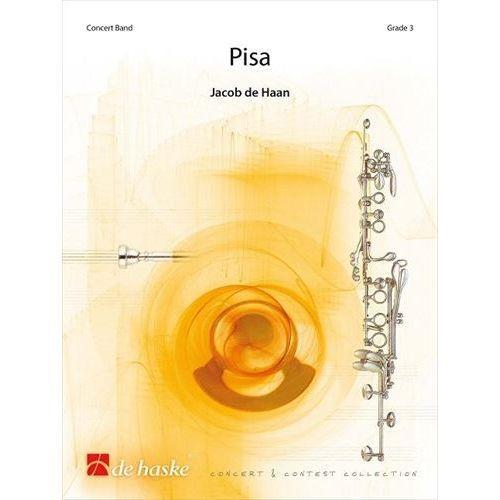 (楽譜) ピサ / 作曲:ヤコブ・デハーン (吹奏楽)(スコア+パート譜セット)