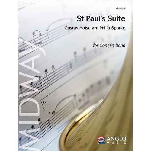 (楽譜) セントポール組曲 / 作曲:グスターヴ・ホルスト / 編曲:フィリップ・スパーク (吹奏楽)(スコア+パート譜セット)