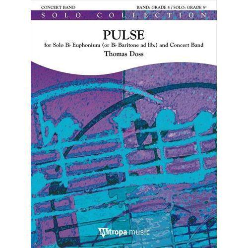 (楽譜) ユーフォニアム協奏曲「パルス」 / 作曲:トーマス·ドス (吹奏楽)(スコア+パート譜セット)