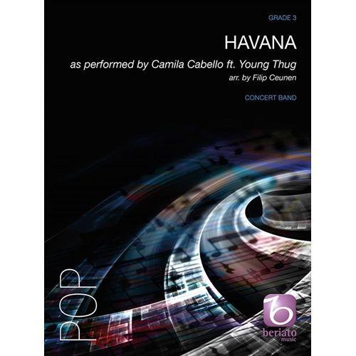 吹奏楽 ポップス ファッション通販 楽譜 ハバナ カミラ スコア+パート譜セット 編曲:フィリップ カベロ 高い素材 クーネン
