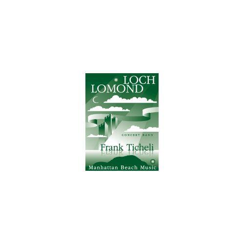 (楽譜) ローモンド湖 / 作曲:フランク・ティケリ (吹奏楽)(スコア+パート譜セット)