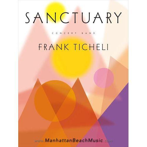 (楽譜) サンクチュアリー / 作曲:フランク・ティケリ (吹奏楽)(スコア+パート譜セット)