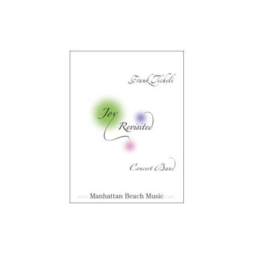 (楽譜) ジョイ・リヴィジテッド / 作曲:フランク・ティケリ (吹奏楽)(フルスコアのみ)