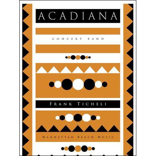 (楽譜) アケイディアナ / 作曲:フランク·ティケリ (吹奏楽)(スコア+パート譜セット)