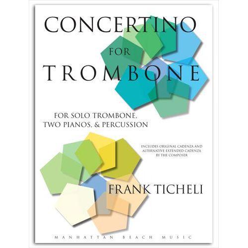 (楽譜) トロンボーン小協奏曲 / 作曲:フランク・ティケリ (室内楽)(スコア+パート譜セット)