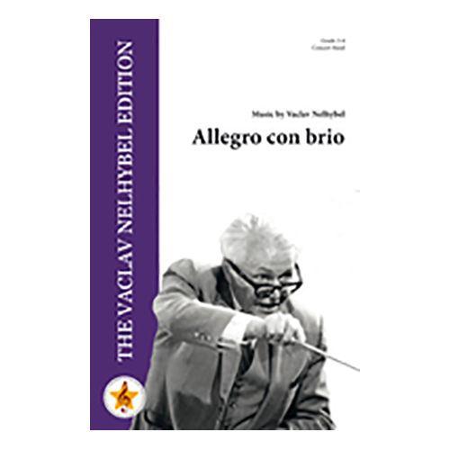 人気の定番 吹奏楽 楽譜 アレグロ コン スコア+パート譜セット メーカー在庫限り品 作曲:ヴァーツラフ ブリオ ネリベル