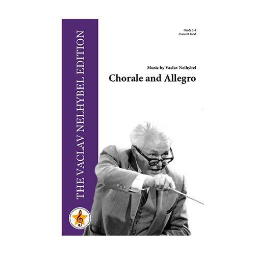 吹奏楽 楽譜 コラールとアレグロ 登場大人気アイテム ネリベル 作曲:ヴァーツラフ スコア+パート譜セット 贈呈