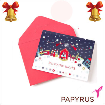 Web beauty takashi mido rakuten global market papyrus greeting papyrus greeting cards whimsical nativity scene joy to the world gift christmas gifts message card greeting card popup solid melody set m4hsunfo