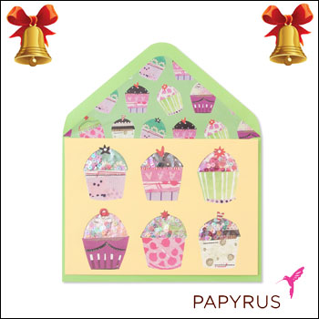 Web beauty takashi mido rakuten global market papyrus greeting papyrus greeting card confetti cupcakes shaker gift christmas gifts message card greeting card popup solid melody set import business m4hsunfo