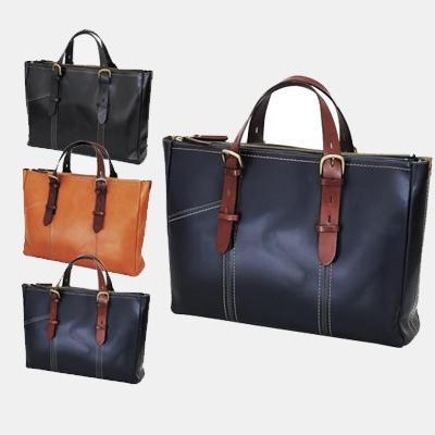 [バジェックス キザシ](カラー:ブラック/キャメル/ネイビーブルー)(トートバッグ メンズ 大きめ 日本製 レザー ビジネス バッグ トートバッグ a4 通勤バッグ かばん メンズ 大容量 メンズバッグ 革)