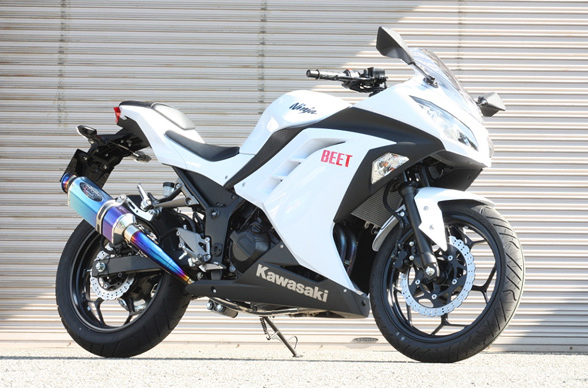 Ninja250 NASSERT-R Evolutionフルエキゾースト