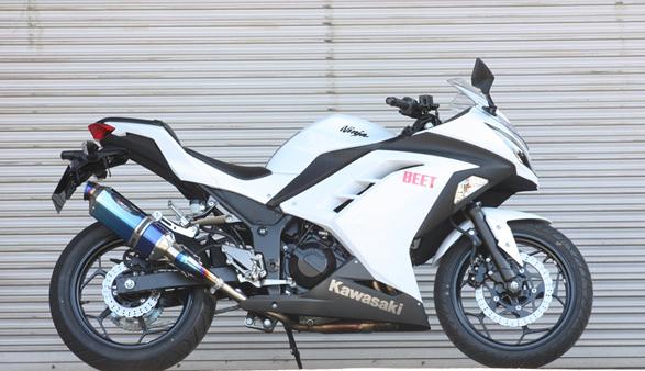 Ninja250 NASSERT-R Evolutionスリップオンマフラー