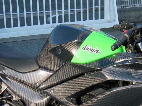 '13~Ninja250タンクパッドタイプR