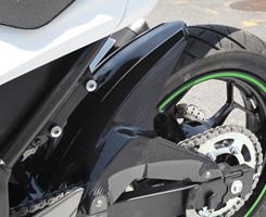 リアフェンダー13~Ninja250レーシングボディワーク
