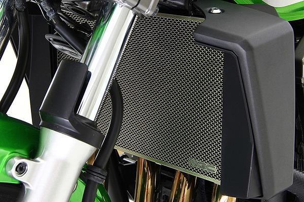 チタニウムプロテクションスクリーンZRX1200DAEGモトコルセ