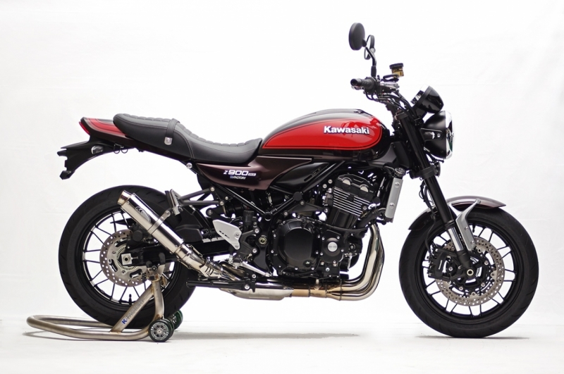 ケイファクトリー STPスリップオン/MotoGPサイレンサーSS2:車検対応 Z900RS