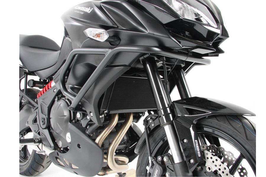 ヘプコ&ベッカー エンジンガード ブラック Versys 650 15-19