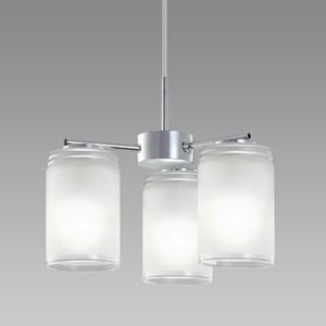 【送料無料】NECライティング LIFELED'S 小型LEDシャンデリア ~4.5畳 昼白色相当 デュアルクローム XZ-LE26312N【smtb-u】