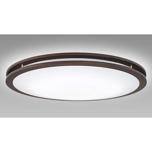 【送料無料】NEC LEDシーリングライト 調色/調光モデル ~8畳 ダークオーク SLDCB08528SG