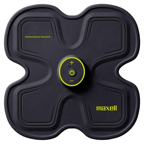 【送料無料】マクセル maxell EMS運動器 ACTIVEPAD「もてケア」 4極タイプ MXES-R400YG【smtb-u】