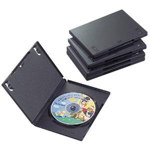 5980円 税込 以上で送料無料 ラッピング無料 追加で何個買っても同梱0円 エレコム 当店限定販売 ELECOM 5枚 CCD-DVD02BK 1枚収納 DVDトールケース ブラック