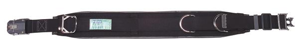 【送料無料】ジェフコム 柱上安全帯用ベルト ワンタッチタイプ DB-98DS-BK