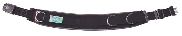 【送料無料】ジェフコム 柱上安全帯用ベルト カーブタイプ・ワンタッチタイプ DB-R98DS-BK