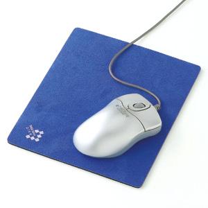 5980円(税込)以上で送料無料&追加で何個買っても同梱0円 サンワサプライ マウスパッドブルー MPD-1BL