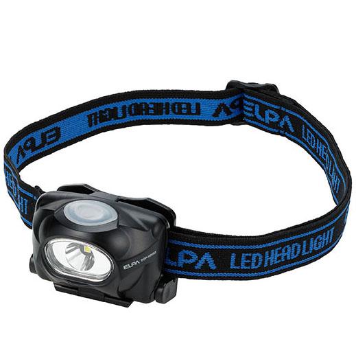 5980円 税込 以上で送料無料 《週末限定タイムセール》 追加で何個買っても同梱0円 ELPA 人気ブレゼント 単4電池×3本 DOP-HD053 50ルーメン LEDヘッドライト
