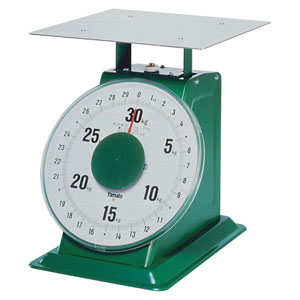 【送料無料】ヤマト 上皿自動はかり「特大型」 平皿付 SD-30 30kg BHK6830【smtb-u】