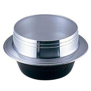 【送料無料】ナカオ アルミ鋳物 小釜 カン無 24cm QKM6724