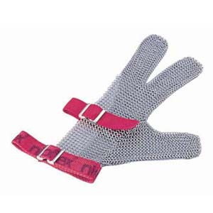 【送料無料】ニロフレックス メッシュ手袋3本指 S S3 白 STB6703