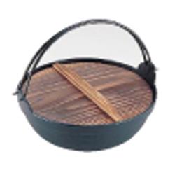 【送料無料】岩鋳 電磁用ふる里鍋 21-011 30cm QHL0930