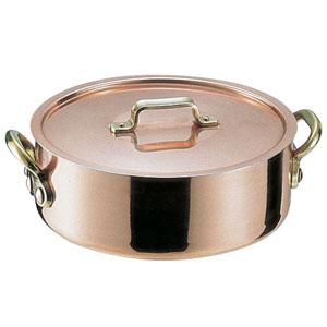 【送料無料】丸新銅器 SAエトール銅 外輪鍋 24cm AST14024【smtb-u】