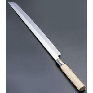 【送料無料】SA佐文 本焼鏡面仕上 蛸引 木製サヤ 30cm ASB52030【smtb-u】