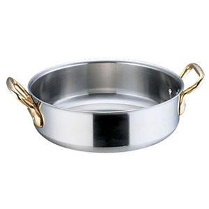 【送料無料】本間製作所 SAスーパーデンジ 外輪鍋 蓋無 39cm AST95039