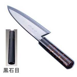 【送料無料】歌舞伎調和庖丁 忠舟 出刃 19.5cm 黒石目 ATD0211