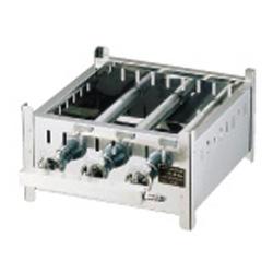 【送料無料】SA18-0業務用角蒸器専用ガス台 LPガス 42cm用 AMS6713