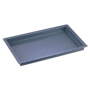 【送料無料】エナメルトレイ 天板サイズ 600×400×40mm AEN0202【smtb-u】
