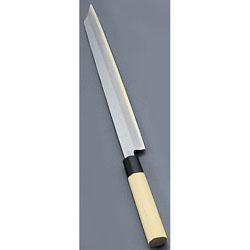 【送料無料】堺實光 匠練銀三 刺身 切付 片刃 24cm 10711 AZT3402
