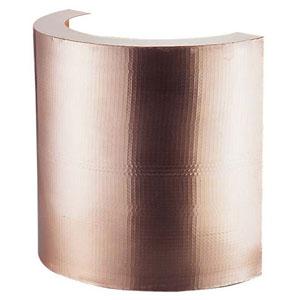 【送料無料】丸新銅器 銅製 天ぷら鍋ガード(槌目入り) 48cm BTV7202