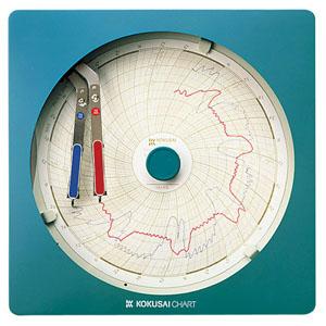 【送料無料】温湿度記録計 温湿きろく君 KC10-WD 1日用 BOV981