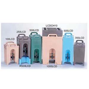 【送料無料】CAMBRO キャンブロ ドリンクディスペンサー 500LCD コーヒーベージュ 0931100