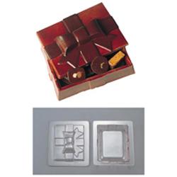 【送料無料】デコレリーフ チョコレートモルド ボックス型 EU-648 WTY78