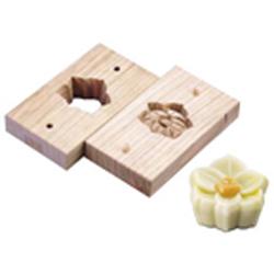 【送料無料】手彫物相型(上生菓子用) スイセン WBT32
