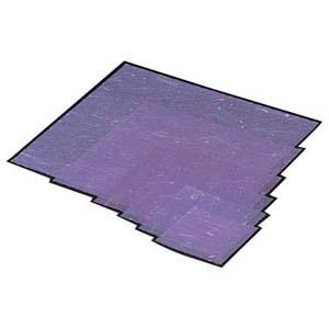 【送料無料】マイン 金箔紙ラミネート 紫 (500枚入) M30-418 QKV21418