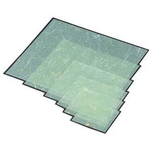 【送料無料】マイン 金箔紙ラミネート 緑 (500枚入) M33-471 QKV5806