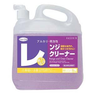 【送料無料】クリーン・シェフ レンジクリーナー 5L 1ケース4本入スプレー付 JLV0302【smtb-u】