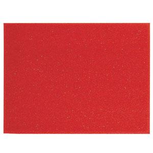 【送料無料】3M スタンダードクッション(裏地つき) 900×1500mm 赤 KMT12153A