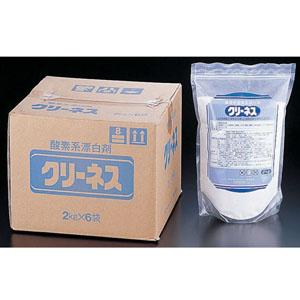 【送料無料】ライオン クリーネス(酸素系漂白剤) (2kg×6袋入) JSV6801